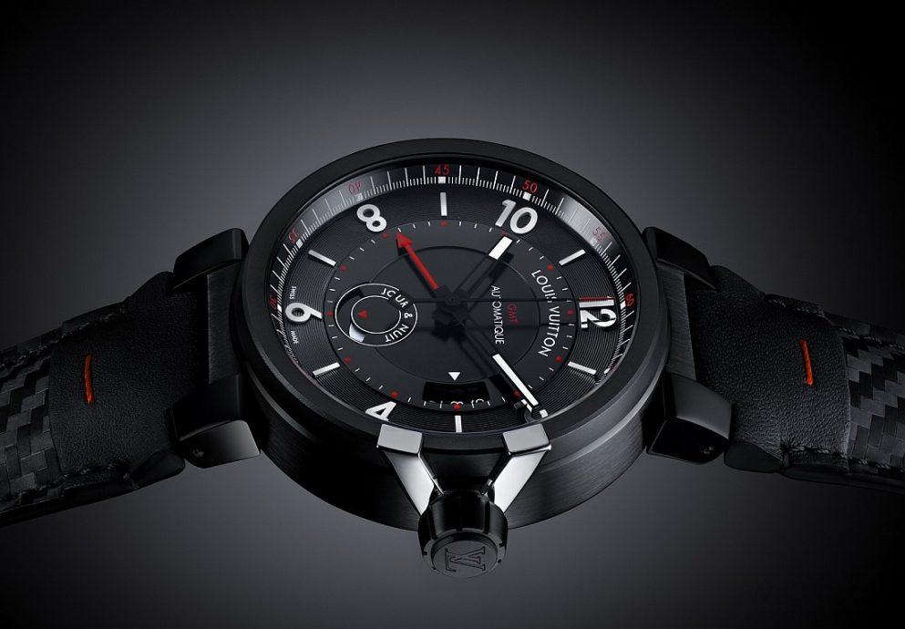 【2015 Pre-Basel報導】Louis Vuitton Tambour éVolution In Black腕錶系列