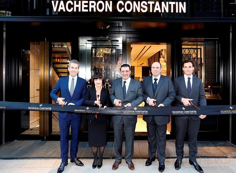 Vacheron Constantin江詩丹頓慶祝東京銀座專賣店開幕