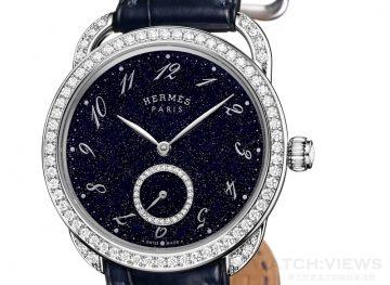 【2015 Pre-Basel報導】 Hermès Arceau Ecuyère Aventurine 珠寶腕錶