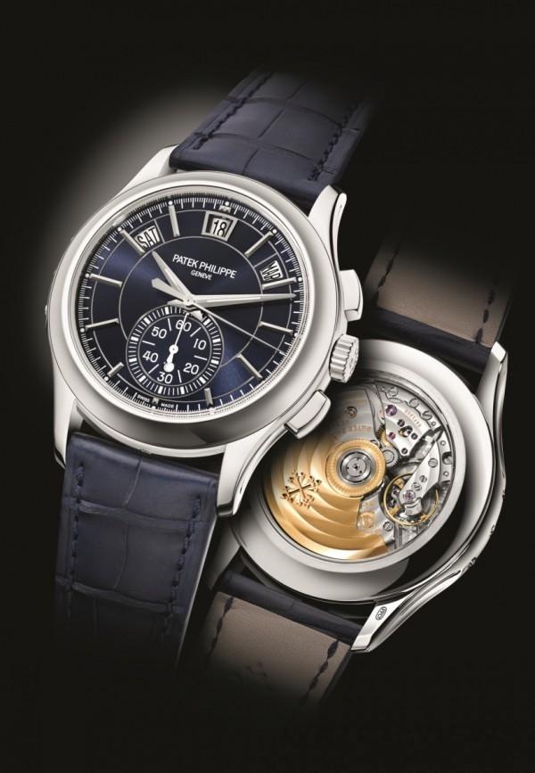 百達翡麗此次推出的 Ref. 5905 年曆計時錶即採用當時推出的 CH 28-520 QA 24H 機芯。