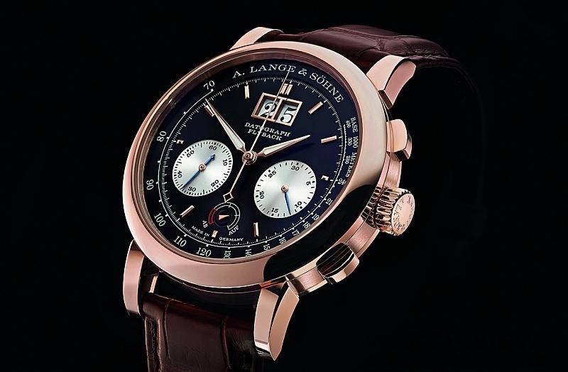 重新演繹經典計時腕錶:朗格Datograph Up/Down 18K玫瑰金款