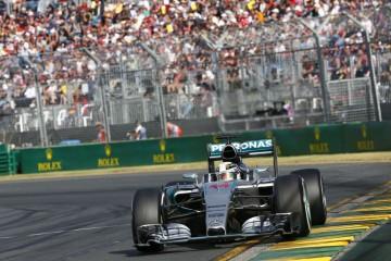 星芒耀大地:2015 F1開幕賽Mercedes-AMG PETRONAS展現壓倒性戰力