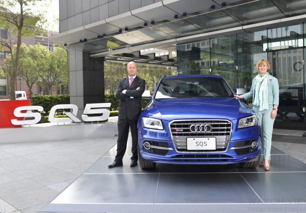 台灣奧迪歡慶創立六週年:全方位策略佈局正式啟動,全新Audi SQ5高性能豪華運動休旅車動感奔馳登場