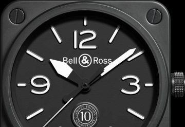 【2015 Basel錶展報導】Bell & Ross 推出 BR 01十周年限量版腕錶,慶祝其標誌性錶款面世十周年