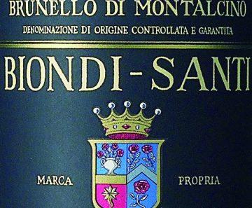Brunello di Montalcino DOCG Annata 2006 Biondi Santi Tenuta Greppo