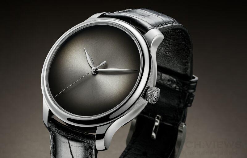 為人類獨有的奢侈品代言:H. Moser & Cie.發表全新fumé錶盤概念腕錶