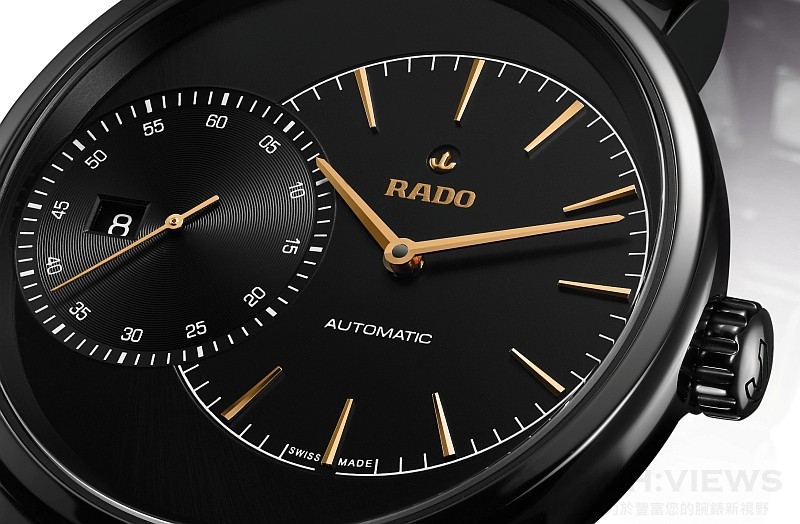 【2015 Basel錶展報導】做您時間的主人:Rado瑞士雷達表鑽霸系列DiaMaster Grande Seconde腕錶
