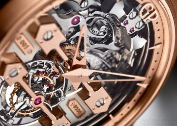 【2015 Basel錶展報導】開啟三問腕錶的新時代:GP芝柏表三金橋陀飛輪三問腕錶