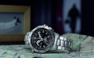 【2015 Basel錶展報導】漢米爾頓Hamilton Khaki Chrono Worldtimer世界時區計時碼錶