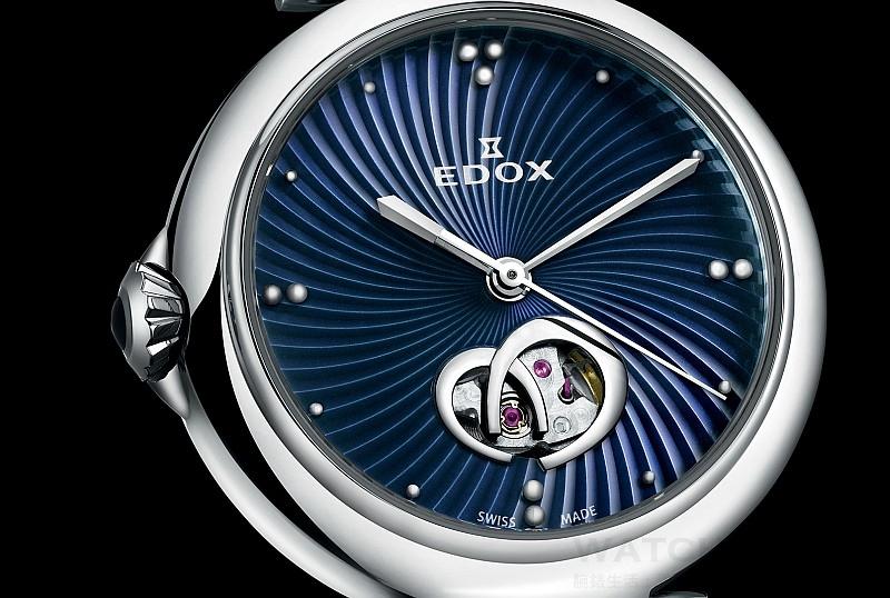 【2015 Basel錶展報導】女神一般的贏者氣勢:依度Edox LaPassion 開心女錶