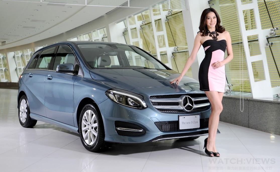 未來 無所不載:Mercedes-Benz全新改款B-Class進化登場