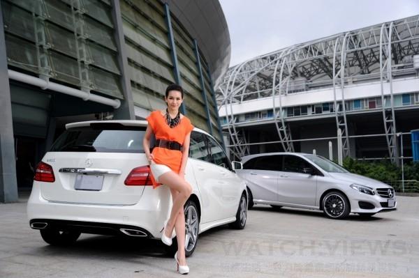 全新B-Class保有掀背寬敞空間,新增動感年輕造型