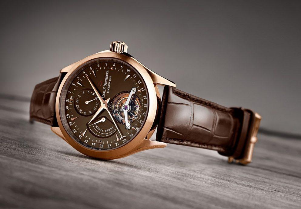 【2015年Basel錶展報導】完美演繹極致工藝:Carl F.Bucherer 寶齊萊Manero 馬利龍系列陀飛輪限量錶