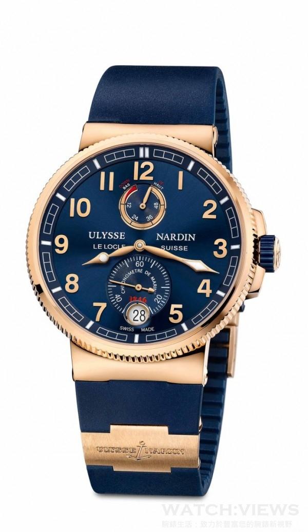 獨創航海天文台腕錶(藍面) 1186-126-3_63,建議售價NT$ 1,061,500。