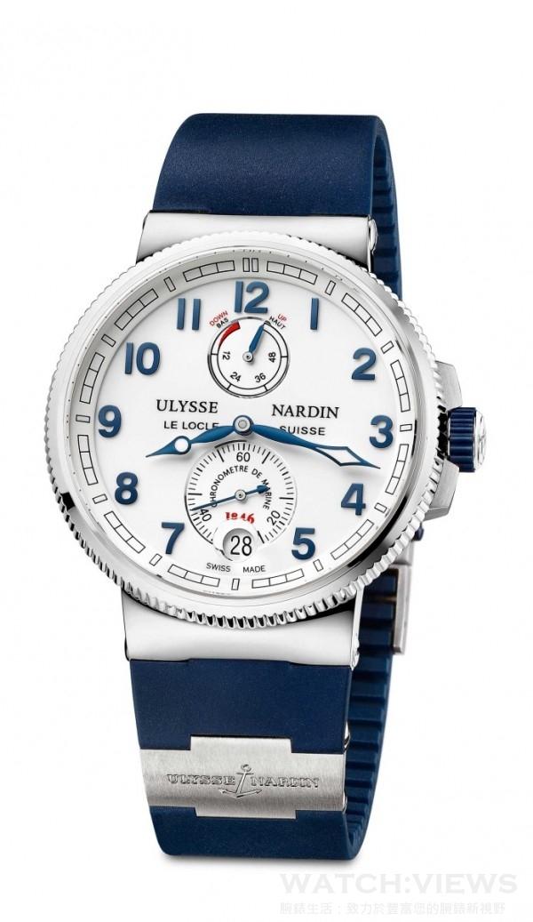 獨創航海天文台腕錶(白面) 1183-126-3_6,建議售價NT$ 348,000。