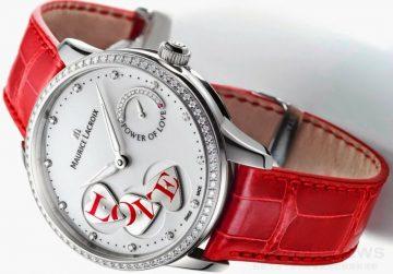 【2015 Pre-Basel報導】美妙驚喜:艾美Masterpiece Power of Love腕錶