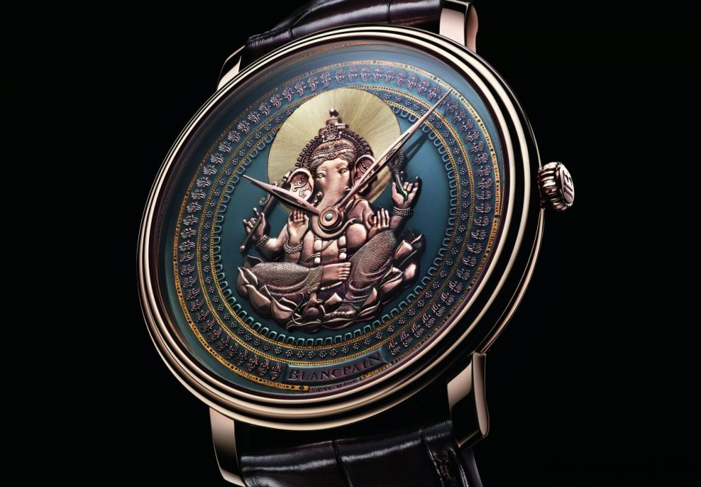 【2015 Basel錶展報導】Blancpain 打造專屬藝術品 – Métiers d'Art Shakudō 赤銅雕繪腕錶