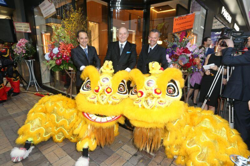 沛納海全新概念專門店於香港九龍廣東道2號隆重重新開幕