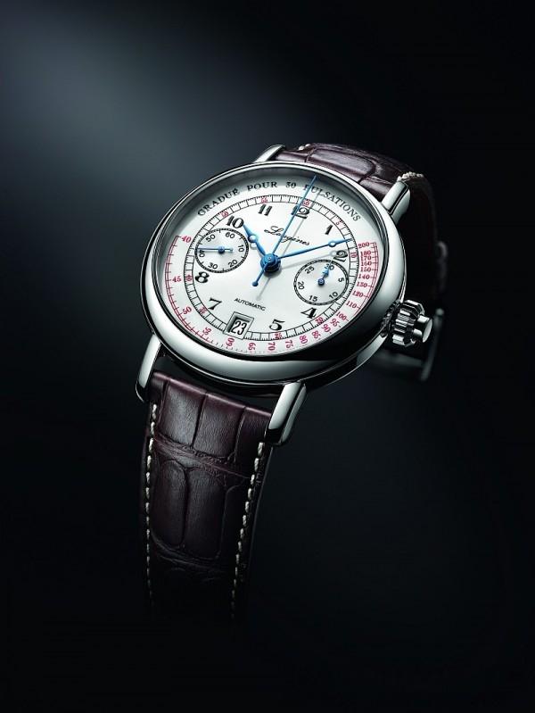 浪琴表脈搏計時碼錶的製錶靈感源自1920年代一款醫學用時計,浪琴表復刻系列脈搏計時碼錶在計算時間之餘,亦可測量脈搏跳動次數。