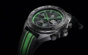 【2015 Basel錶展報導】向國際足聯金球獎三屆得主C羅致敬:TAG Heuer Formula 1 Cristiano Ronaldo計時碼錶