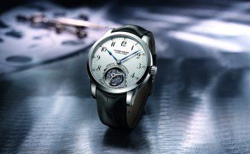 【2015 Basel錶展報導】雅典Ulysse Anchor Tourbillon船錨陀飛輪腕錶