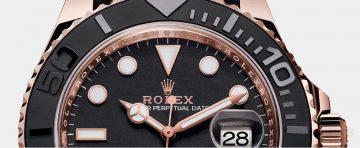 【2015 Basel錶展報導】勞力士發表配備全新Oysterflex橡膠錶帶的Yacht-Master 116655