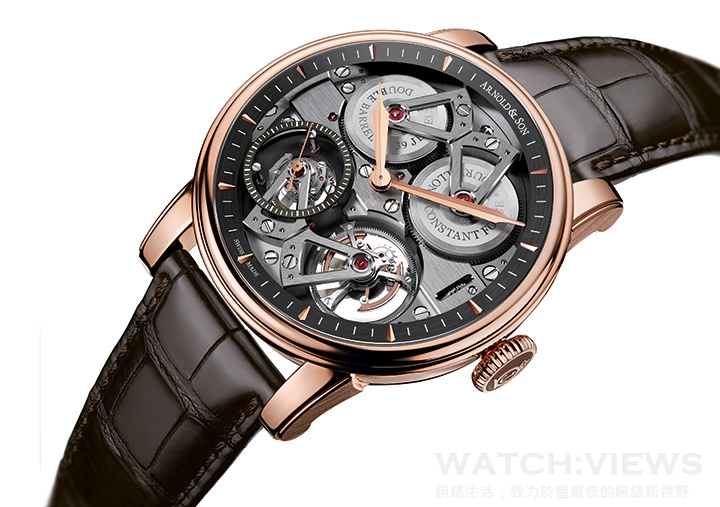 【2015 Pre-Basel報導】Arnold & Son Constant Force Tourbillon