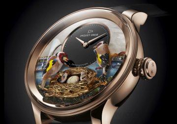 【2015 Basel錶展報導】Jaquet Droz呈獻日內瓦報時鳥三問腕錶(The Bird Repeater Geneva)