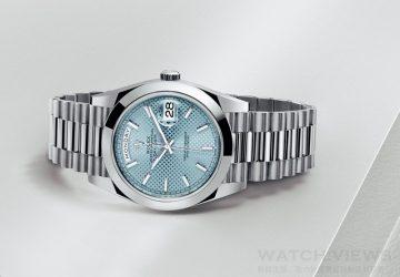 【2015 Basel錶展報導】勞力士發表搭載新一代Cal.3255恆動機芯的全新Oyster Perpetual Day-Date 40腕錶