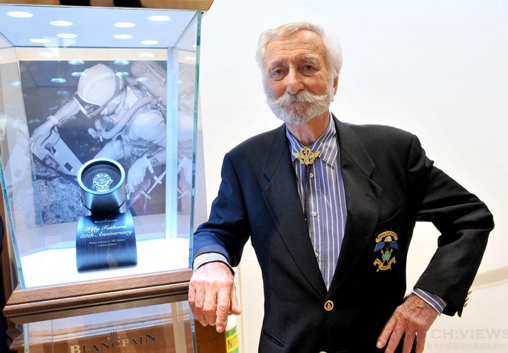 Blancpain「50 噚潛水腕錶」之父海軍上尉Robert Maloubier辭世