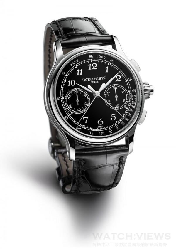 錶耳設計一新,兩側與錶殼合成一條柔美的弧線,並呈現橫向磨拭加工效果,突顯流麗輪廓。