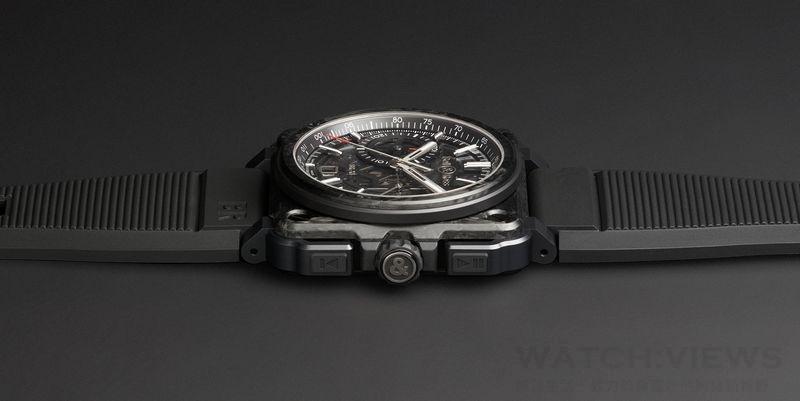 【2015 Basel錶展報導】Bell & Ross推出 BR-X1 CARBONE FORGÉ ®高科技動感計時腕錶