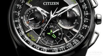 全球最薄光動能GPS衛星同步對時:CITIZEN光動能衛星對時錶 F900