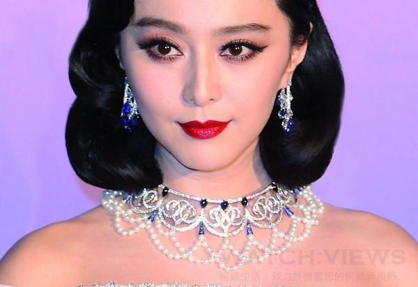 范冰冰佩戴蕭邦Red Carpet頂級珠寶