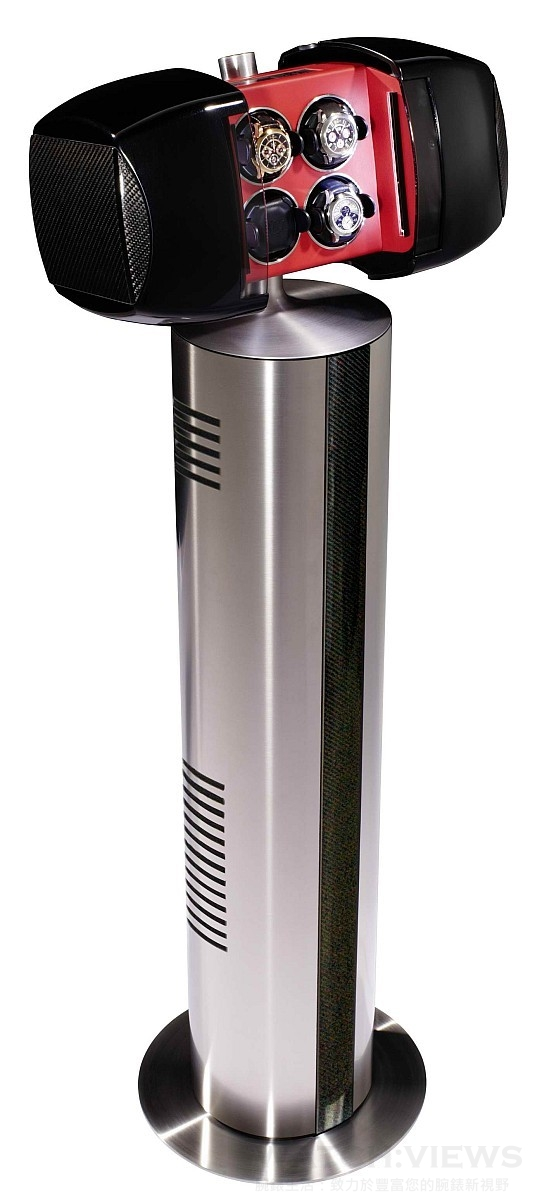 Buben & Zorweg Phantom 4 carbon自動上鍊收藏盒,建議售價NT$345,000。