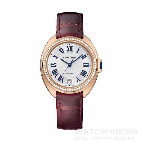 Cartier卡地亞Cle de Cartier腕錶,建議售價NT$970,000。