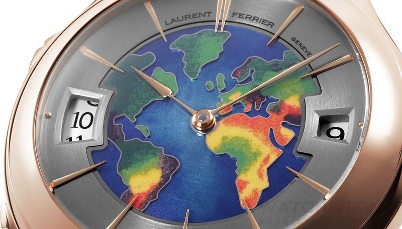 Laurent Ferrier 2015年推出Traveller 系列全新錶款