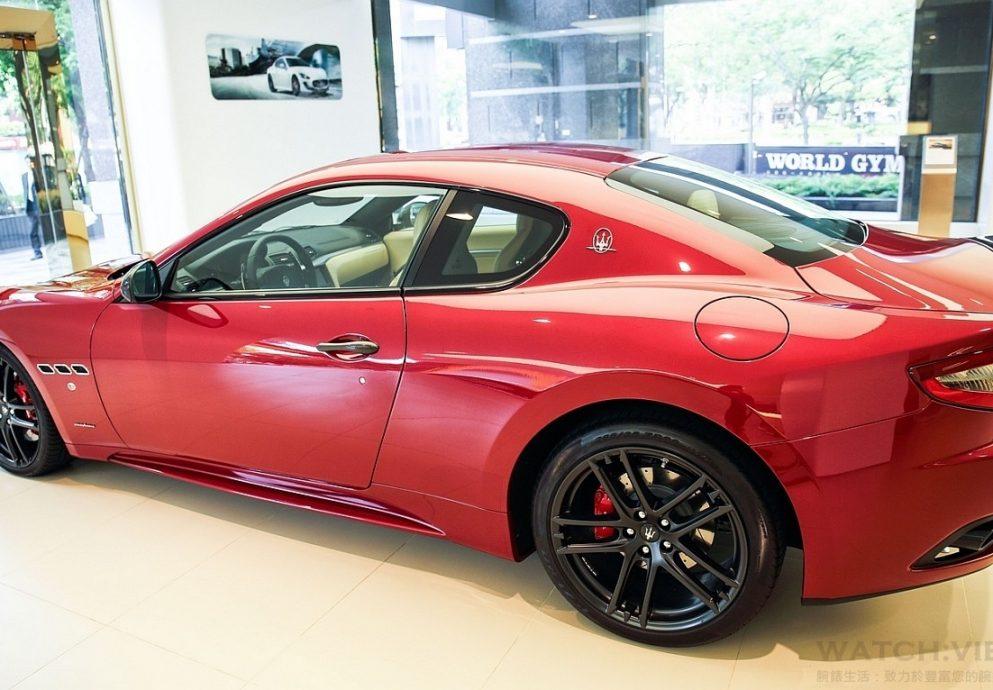 競技侵略風格寓於優雅奢華之中,盡顯壯遊精神:MaseratiGranTurismo MC Sport Line Limited Edition