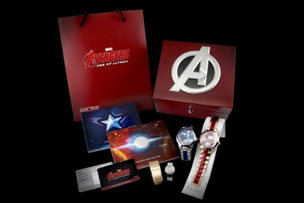 萬希泉Memorigin x Avengers2陀飛輪腕錶精美包裝套組