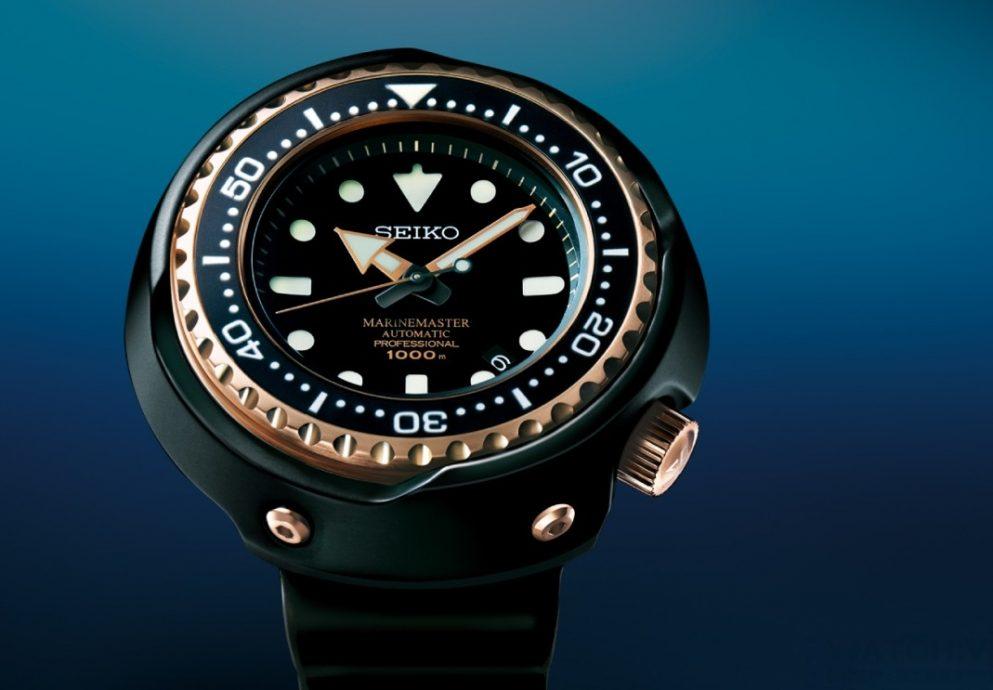 SEIKO發表兩款海洋大師PROSPEX Marinemaster,歡慶卓越潛水腕錶 50 週年
