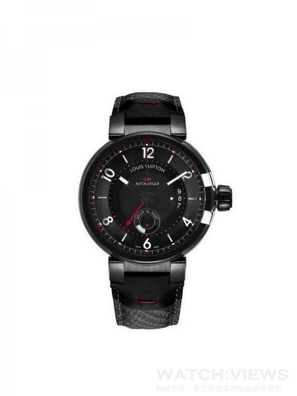 Tambour Evolution GMT In Black,歐元建議售價約5,600。