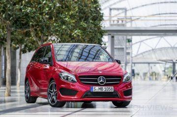 豪華小車年前搶市:Mercedes-Benz The new B-Class率先公佈超值售價156萬元起