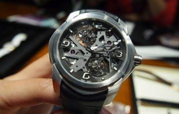 【2015 Basel錶展報導】Blancpain Women系列雙逆跳晝夜顯示腕錶、L-evolution系列一分鐘卡羅素陀飛輪腕錶