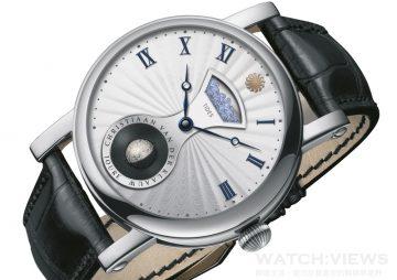 CVDK Real Moon Tides腕錶:最精準立體月相與擬真海浪潮汐顯示同時現身腕上