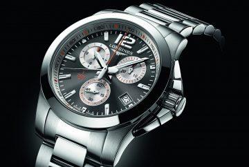 浪琴表推出征服者 1/100th 法網計時碼錶,慶祝法國網球公開賽