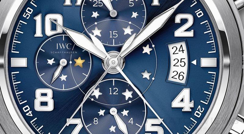 和小王子一起踏上星際之旅  飛行員追針計時腕錶「小王子」特別版