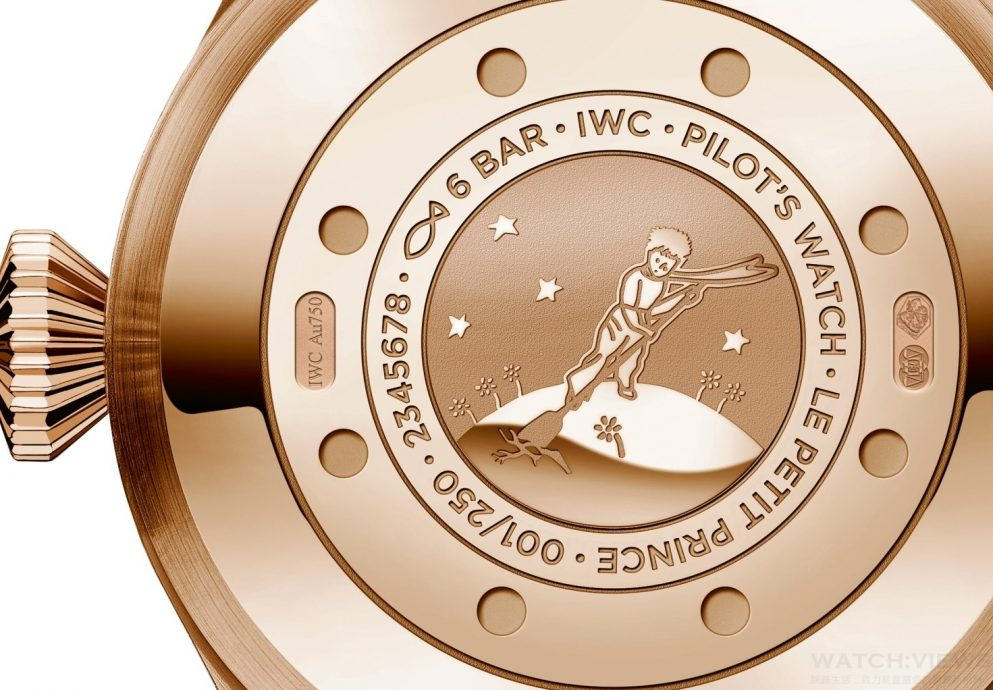 "IWC發表Big Pilot's Watch Edition ""Le Petit Prince""──大型飛行員腕錶「小王子」特別版(IW500909)"