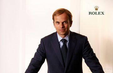 Jean-Frédéric Dufour先生將於6月17日真除勞力士CEO(首席執行官)