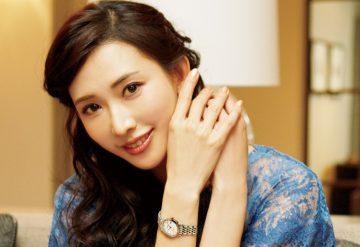 浪琴表全球代言人林志玲邀您與媽媽共享生命中的優雅時刻