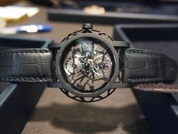Graff 2015年奢華男錶登場